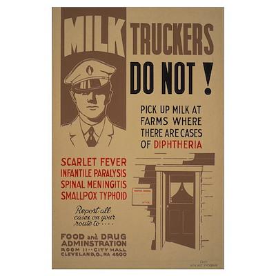 MILK MAN 11x17 Poster