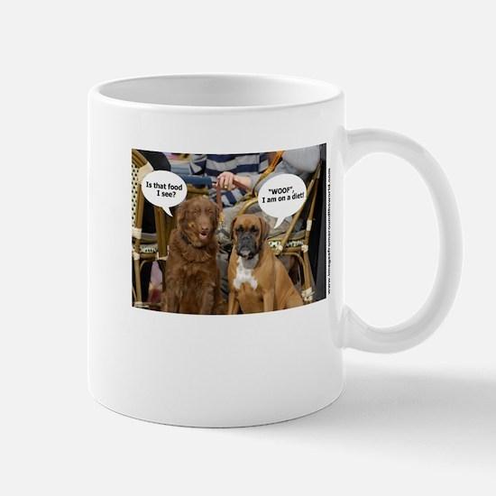 Dogs Caption no 1 Mug