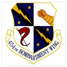 454th Bomb Wing Poster