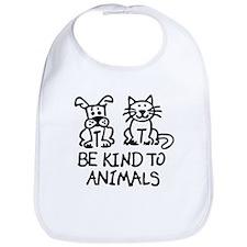 Cute Animal cruelty Bib