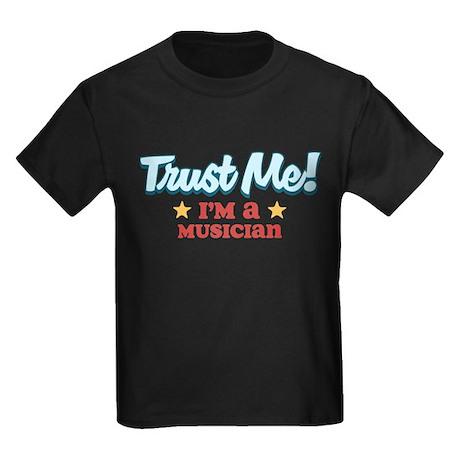 Trust Me Musician Kids Dark T-Shirt