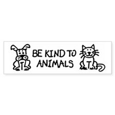 Unique Animals Bumper Stickers