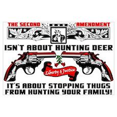 """""""The Second Amendment"""" Poster"""