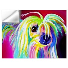 Chinese Crested #2 Wall Decal