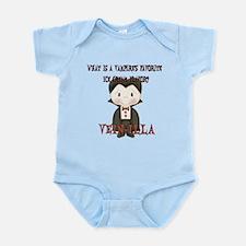 Little Vampire Halloween Joke Infant Bodysuit