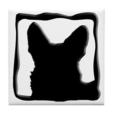 The Ears Have It - Tile Coaster