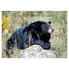 Prayer Bear Poster