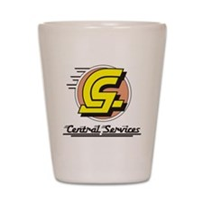 Central Services Shot Glass
