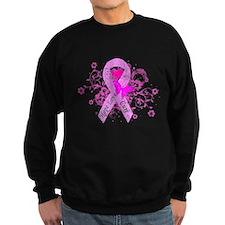 Vintage Pink Ribbon Sweatshirt