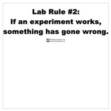 Lab Rule #2 Poster