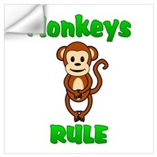 Monkey Wall Decal