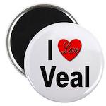 I Love Veal Magnet