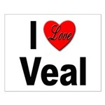 I Love Veal Small Poster