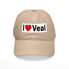 I Love Veal Baseball Cap