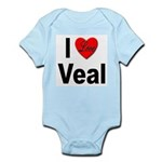 I Love Veal Infant Creeper