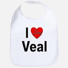 I Love Veal Bib