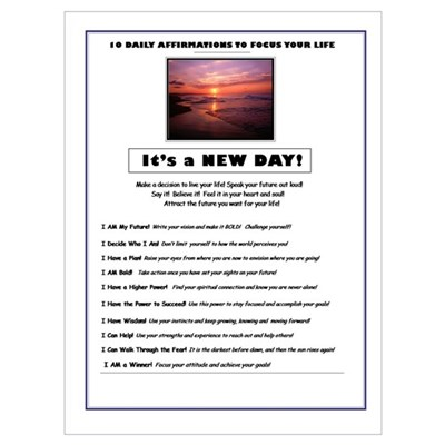 It's a NEW DAY! Poster