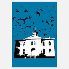 the birds (dark blue)