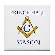 Prince Hall Mason Tile Drink Coaster