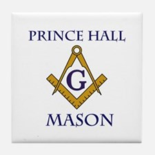 Prince Hall Mason Tile Drink Coaster