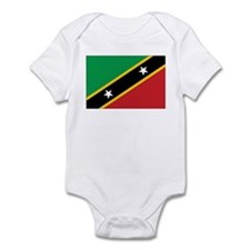 St. Kitts and Nevis Flag Infant Bodysuit