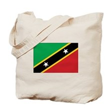 St. Kitts and Nevis Flag Tote Bag