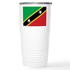 St. Kitts and Nevis Flag Travel Mug