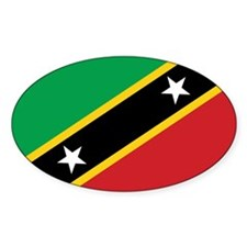 St. Kitts and Nevis Flag Decal