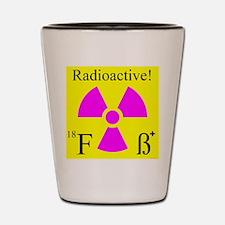 Cute Nuclear medicine Shot Glass