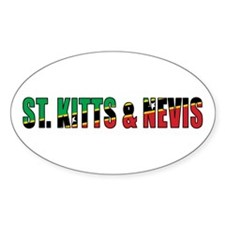 St. Kitts and Nevis Decal