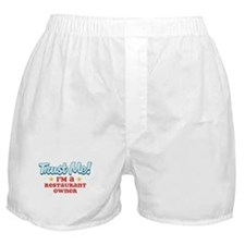 Trust Me Restaurant owner Boxer Shorts