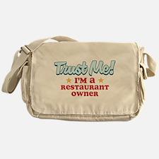 Trust Me Restaurant owner Messenger Bag