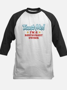 Trust Me Restaurant owner Tee