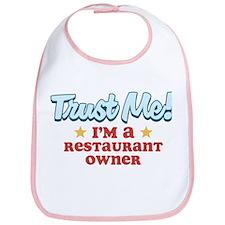 Trust Me Restaurant owner Bib