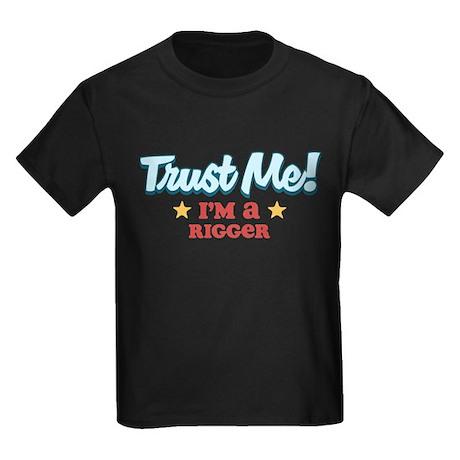 Trust Me Rigger Kids Dark T-Shirt