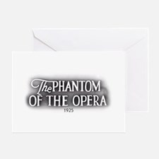 The Phantom of the Opera 1925 Greeting Cards (6) G