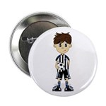 "Cute Soccer Boy 2.25"" Button (10 Pk)"