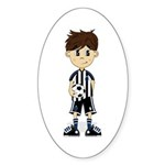 Cute Soccer Boy Sticker (10 Pk)