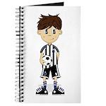 Cute Soccer Boy Journal
