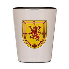 Royal Arms Scotland Shot Glass