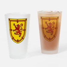 Royal Arms Scotland Drinking Glass