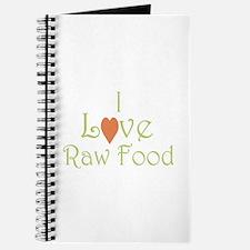 I love raw food - Journal