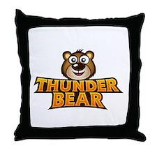 Unique Thunder Throw Pillow