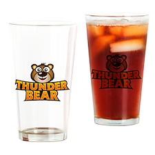 Funny Thunder Drinking Glass