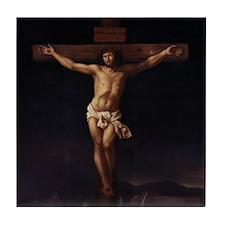 Crucifixion Tile Coaster