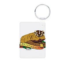 Badger - Wisconsin Keychains