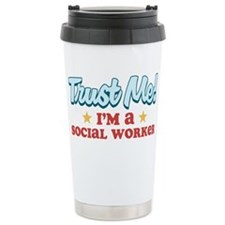 Trust Me Social worker Travel Mug