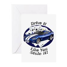 Dodge Viper Greeting Cards (Pk of 10)