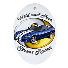 Dodge Viper Ornament (Oval)