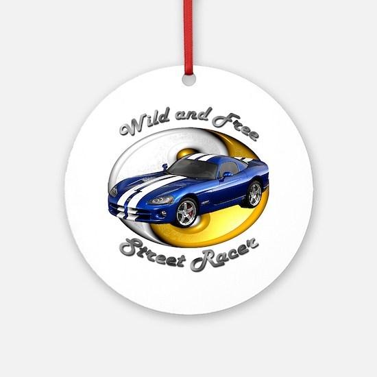 Dodge Viper Ornament (Round)